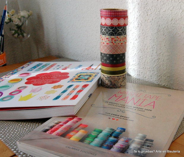 detalle libros con washi tapes